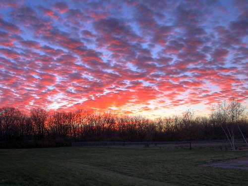 sunrise urbana hdr chambana