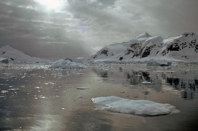 Antarctic dawn