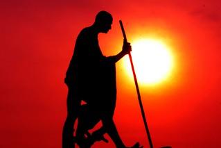 Gandhiji's Statue, India