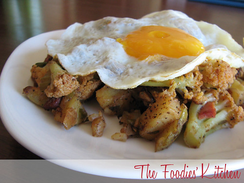 Cauliflower Hash with Fried Egg02