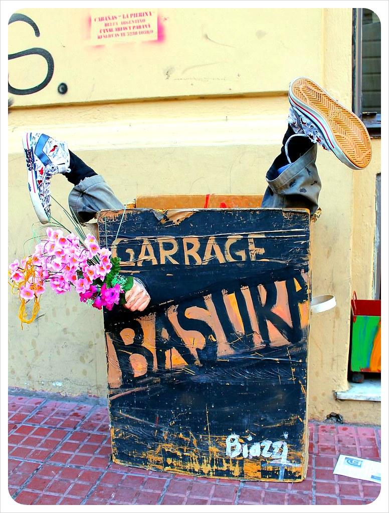 san telmo market garbage bin