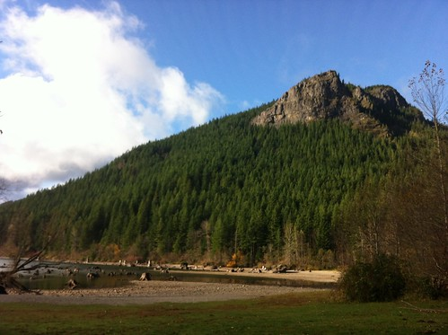 Rattlesnake Ledge from Below