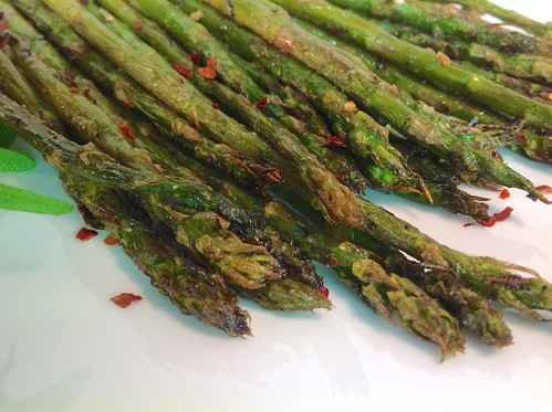 Roasted Asparagus with Garlic and Rosemary
