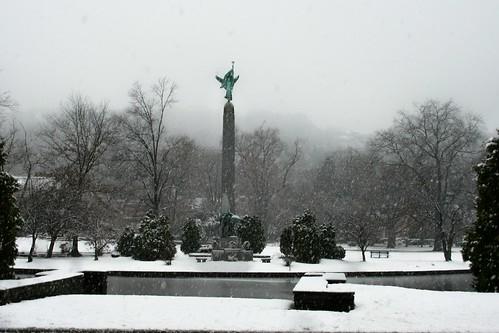 Edgemont Park ~ November Snowstorm