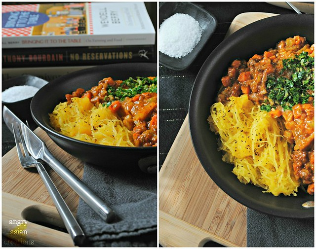 Osso Bucco + side of Spaghetti Squash