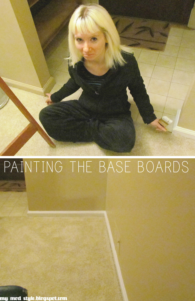 Living Room base boards