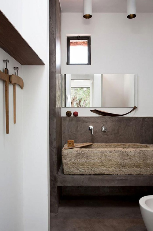 Coastal Style Rustic Bathrooms