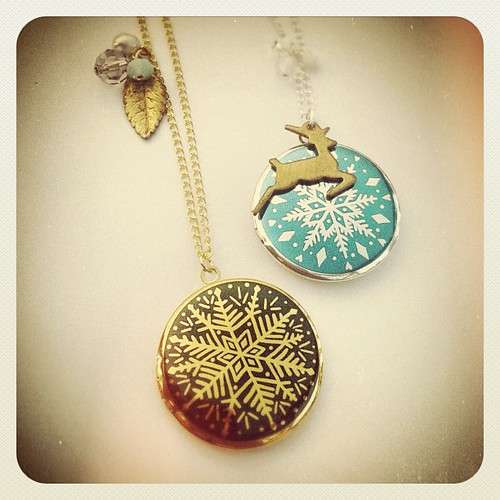 2012 Snowflake Lockets