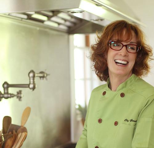 Chef Bev Gannon candid
