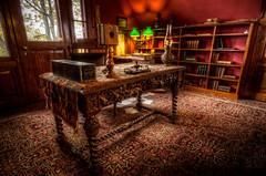 Mark Twain's Desk and Telephone