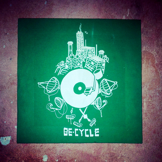 be-cycle RYC urban art hamburg