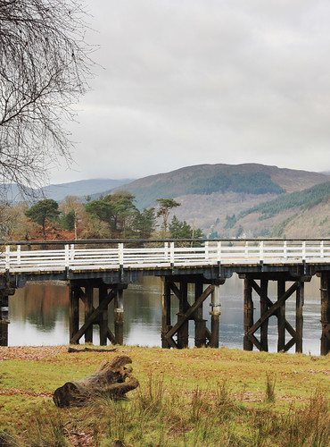 Penmaenpool Bridge by Helen in Wales