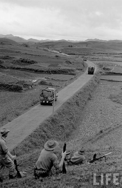 Lang Son  1950 (2) - Route Coloniale 4 / RC4 - Quốc lộ 4 chạy dọc biên giới với Trung Hoa