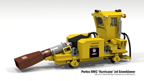 Portec RMC 'Hurricane' Jet Snowblower