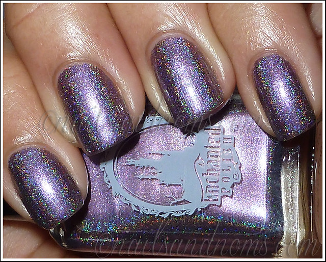 Enchanted Polish Ho Ho Holoday - Dance Of The Sugar Plum Flash 1