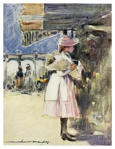 011- En el mercado de flores de Neuilly-Paris (1909)-Mortimer Menpes