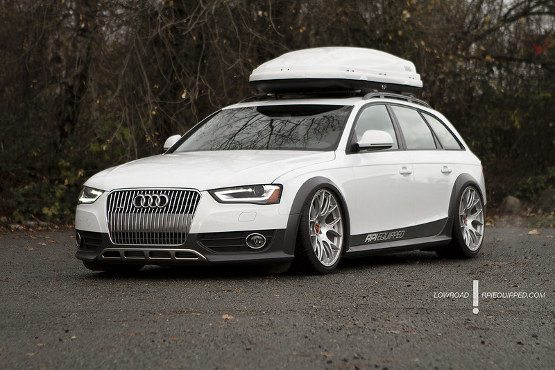 b8 audi a4 allroad on airlift and accuair. Black Bedroom Furniture Sets. Home Design Ideas