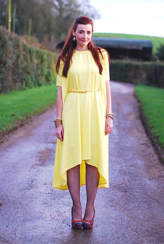 Bernadett Penkov for Zalando Yellow Dress