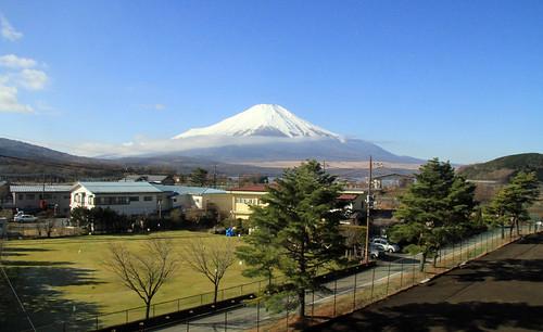Otra del Fuji desde el cuarto