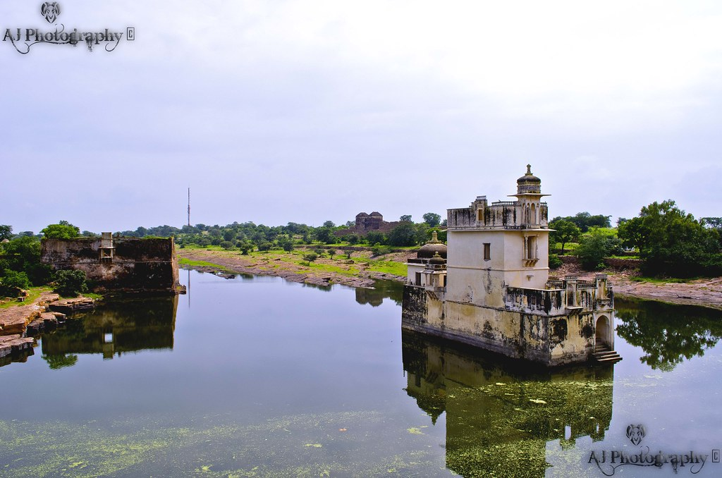 Padmini's Palace, Chittorgarh Fort, Rajasthan by AJ Photography