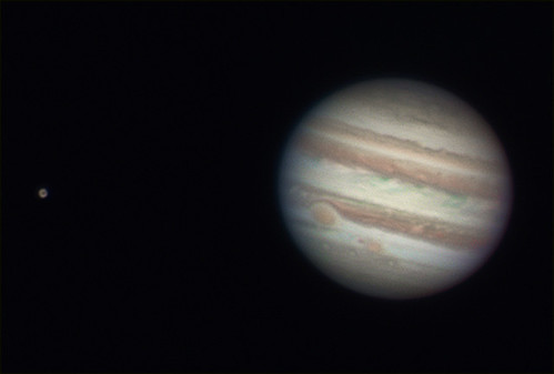 Jupiter & Ganymede - 051212 by Mick Hyde
