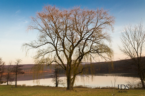 park autumn sunset lake tree fall water colors canon landscape pa t3 lightroom westernpennsylvania shawneestatepark