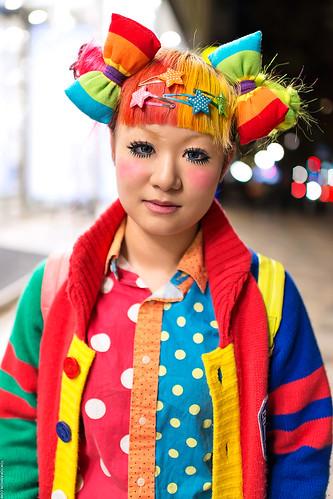Harajuku Rainbow Style