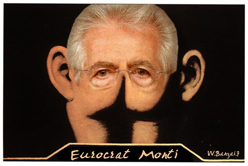 EUROCRAT MONTI by Colonel Flick/WilliamBanzai7