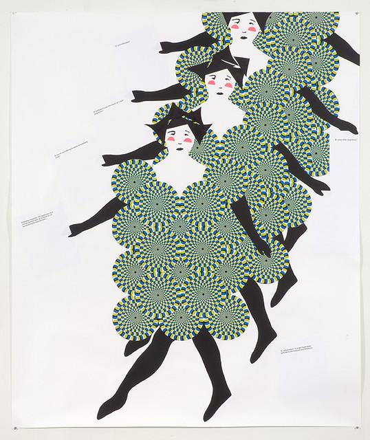 Frances Stark, Chorus Line, 2008