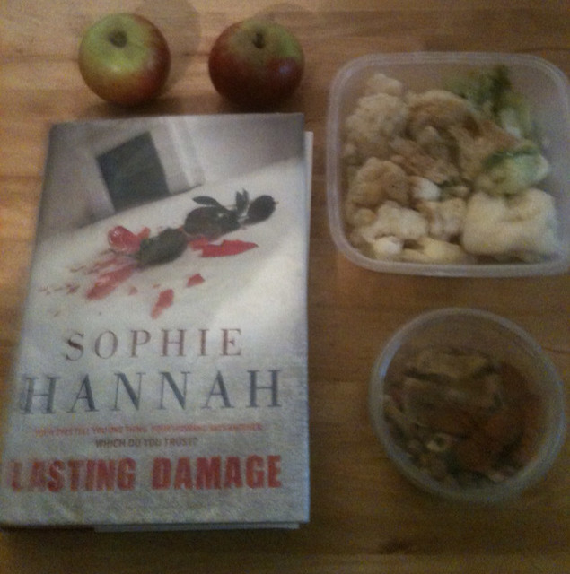 Lunch and book