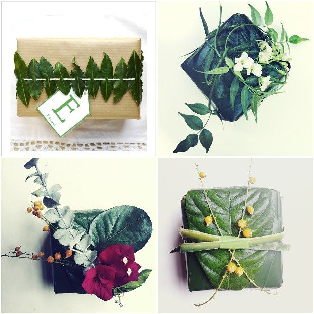 DIY-Gift-Wrap-Green