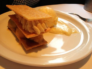 Toffee Apple Millefeuille