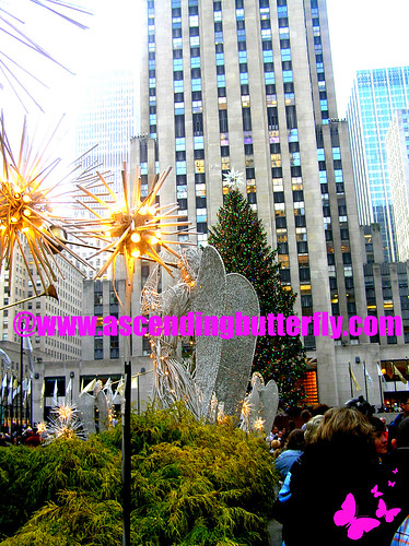 Rockefeller Center from my vantage point by the angels 01 WATERMARKED