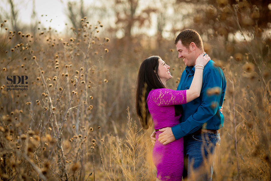 Farm and country Kansas engagement photography