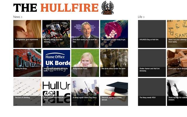 The Hullfire for Windows 8