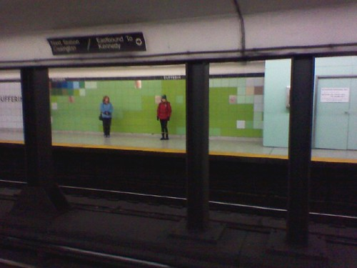 The new tiles of Dufferin Station (2)