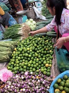 Mercado de fruta y verduras