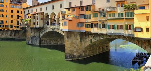 Ponte Vecchio is Florence's most photographed landmarks