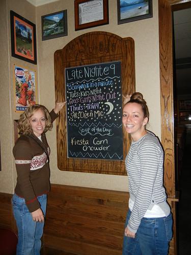 Nov 21 2012 Ruth Steph, Applebees