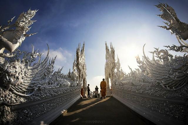 Wat Rong Khun, Chiang Ra, Tailandia.