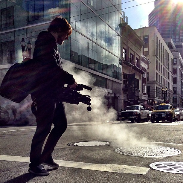 Steam #streetphotography by Joe Pemberton, on Flickr