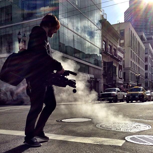 Steam #streetphotography by Joe Pemberton, on Flickr