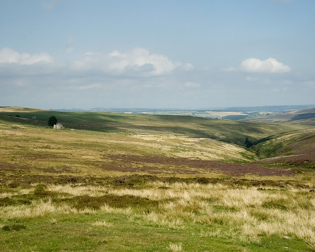Blanchland Fells on the Durham/Northumberland border