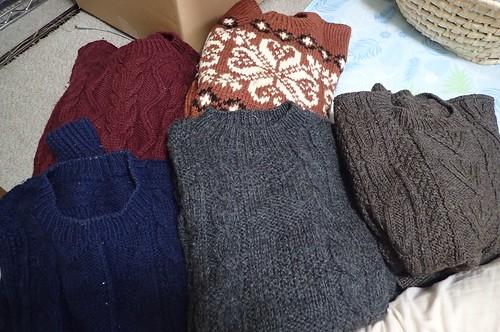 ばーちゃんのセーター