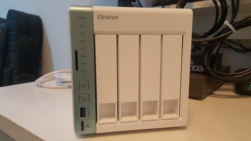 QNAP TS-451A ด้านหน้า