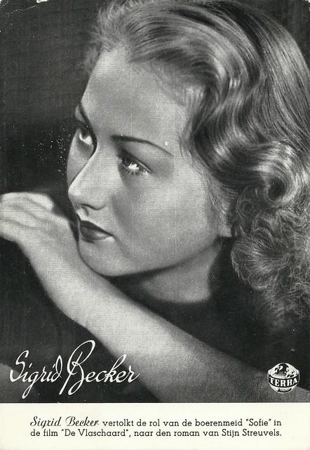 Sigrid Becker in De Vlaschaard (1943)