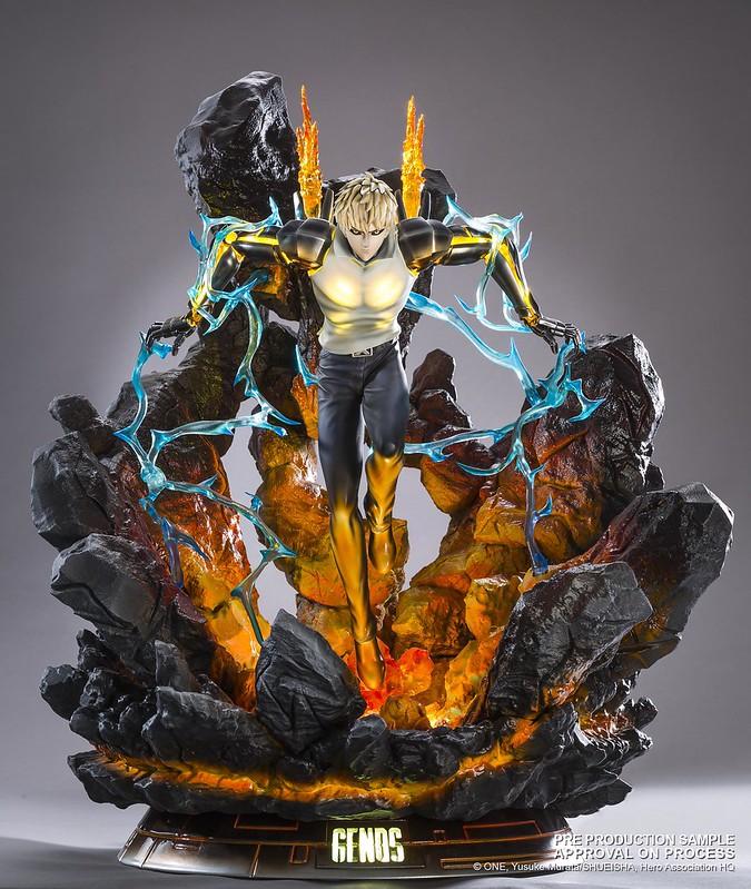 超猛燈光特效的限定品! TSUME-ART《一拳超人》傑諾斯 Genos HQS 1/6 FIGURE
