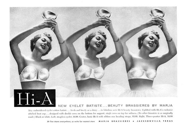 Marja Brassieres, 1953
