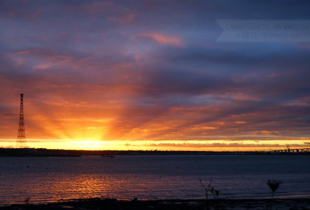 Sunset, December 7 2012 - 6