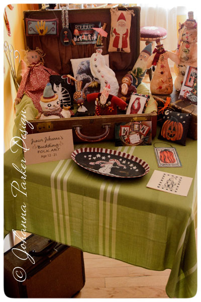 Johanna-Parker-Childhood-folk-art-display